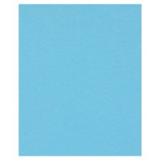 8.5x11 Blue Cardstock- Cloudless