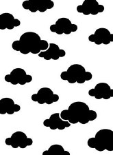 Darice Embossing Folder- Background- Clouds