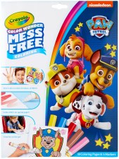 Crayola Color Wonder Coloring Pages & Markers- Paw Patrol