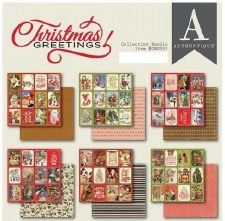 Christmas Greetings 6x6 Paper Pad