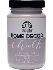 FolkArt Home Decor Chalk Paint 8 oz- Cobblestone