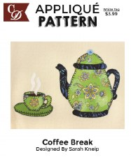 Applique Pattern-  Coffee Break
