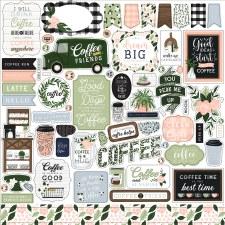 Coffee & Friends Sticker Sheet