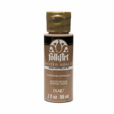 FolkArt 2 Oz. Acrylic Paint- Coffee Latte