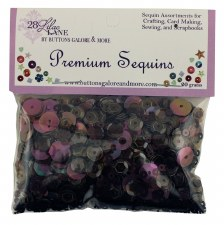 28 Lilac Lane Premium Sequins- Coffee