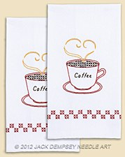 Hand Towels- Coffee Time