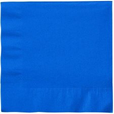 """Touch of Color 6.5"""" Napkin- Cobalt"""