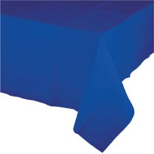 """Touch of Color Plastic Tablecover 54""""x108""""- Cobalt"""