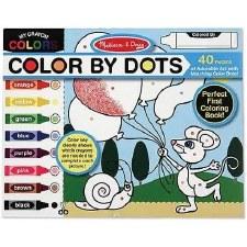 Melissa & Doug Color By Dots