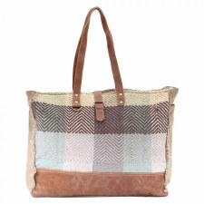 Myra Weekender Bag- Color Chunk