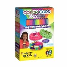 Creativity for Kids Craft Kit- Color Cord Bracelets