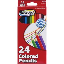 Colored Pencils, 24ct
