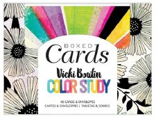 Vicki Boutin Color Study Boxed Card Set