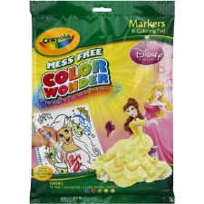 Crayola Color Wonder Coloring Pages & Markers- Princesses