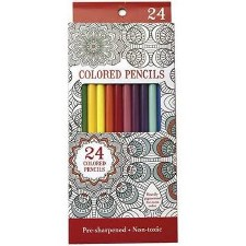 Leisure Arts Colored Pencils, 24pc