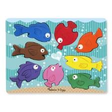 Melissa & Doug Chunky Puzzle- Colorful Fish