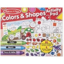 Melissa & Doug Activity Pad- Colors & Shapes