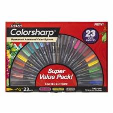 Colorsharp 23pc Permanent Marker Set