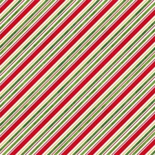 Comfort & Joy Fabric - Snow Diagonal Stripe
