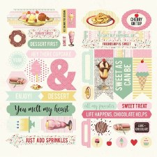 Confection Element Die Cuts