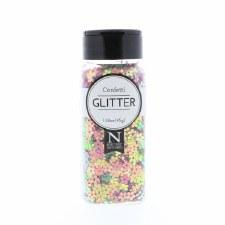 2oz. Confetti Glitter- Flowers