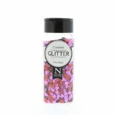 2oz. Confetti Glitter- Hearts