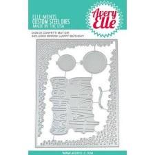 Avery Elle Elle-Ment Die- Confetti Mat