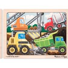 Melissa & Doug Jigsaw Puzzle- Construction Site