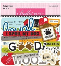 Cooper Ephemera Die Cuts- Words