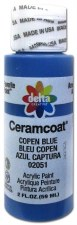 Delta Ceramcoat Acrylic Paint, 2oz- Blues: Copen Blue