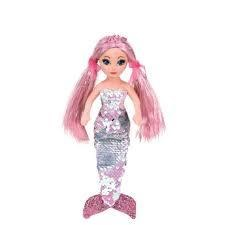 Beanie Flippable Sequin Collection- Mermaid, Cora