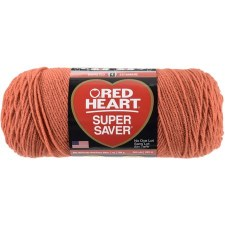 Red Heart Super Saver Yarn- Coral