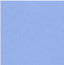 "Kona Cotton 44"" Fabric- Blues- Cornflower"