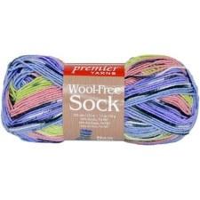 Wool Free Sock Yarn- Cottage Garden