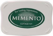 Memento Dye Ink Pad- Cottage Ivy