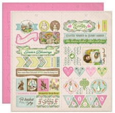 Cottontail Die Cut Elements