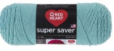 Red Heart Super Saver Yarn- Country Blue