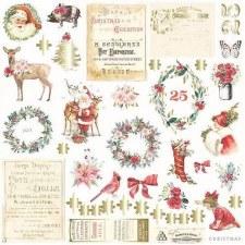 Christmas in the Country Ephemera Die Cuts