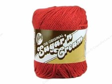 Sugar 'n Cream Yarn- #1530 Country Red
