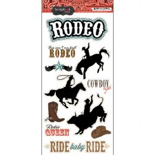 Cowboy Rodeo Sticker