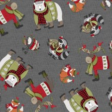 Cozy Critters Fabric- Animals Allover