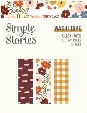Cozy Days Washi Tape 3pk