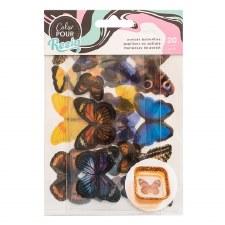 Color Pour Resin Mix-In Acetate Butterflies
