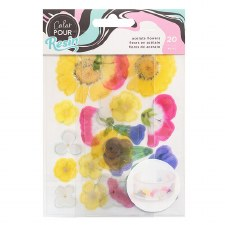 Color Pour Resin Mix-In Acetate Flowers