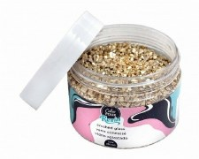 Color Pour Resin Mix-In Faux Crushed Glass Gold
