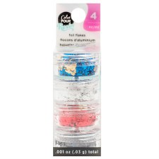 Color Pour Resin Mix-In Reversible Foil Flakes