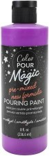 Color Pour Magic Paint, 8oz- Ameythst