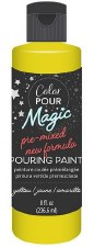 Color Pour Magic Paint, 8oz- Citrine