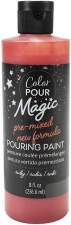 Color Pour Magic Paint, 8oz- Ruby