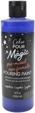 Color Pour Magic Paint, 8oz- Sapphire